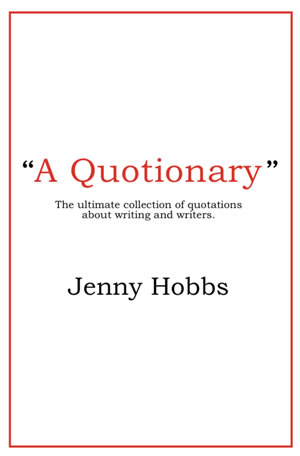 A Quotionary - by Jenny Hobbs
